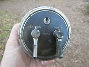 1920and039s Antique Brass Era Oldsmobile Delco Ignition And Lights Switch 3 5/8 Wide