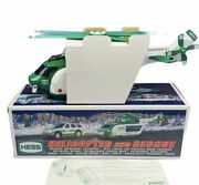 Hess Toy Truck Car Collectible Nib Box Vtg Diecast Helicopter Rescue 2012 Rare 3