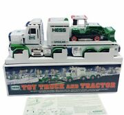 Hess Toy Truck Car Collectible Nib Box Diecast Semi Tractor Trailer Set Loader 1