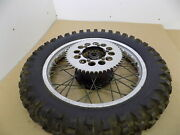 1983 83and039-84and039 Cagiva Wmx-125 Wmx125 / Oem Nice Akront 18 Rear Wheel