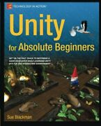 Unity For Absolute Beginners By Blackman New 9781430267799 Fast Free Shipping-