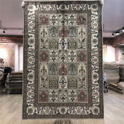 Yilong 4and039x6and039 Turkish Style Silk Hand Knotted Carpets Classic Handmade Rugs 150b