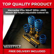 Mercedes Vito W447 14 4wd Height Adjustable Coilovers Bilstein B14 Lowering Kit