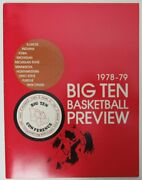 1978-79 Big Ten Basketball Preview Media Guide Bobby Knight 149881