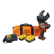New Klein Tools Bat20g24h 20v Battery-operated Acsr Open-jaw Cutter Kit 4 Ah