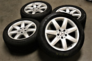 Mercedes Benz Sl R230 Wheels 5x112 Used Tires With Good Shape