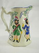 Early Staffordshire William Tell Milk Pitcher Circa 1800s
