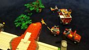 Lego 4209 And 4208 And 4427 - Set Of Fire Plane, 4x4, And Atv - 100 Complete