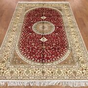 Yilong 5and039x8 Medium Home Decor Classic Silk Rug Oriental Hand Knotted Carpet 370c