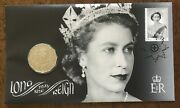 2015 Queen Elizabeth Ii Long May She Reign Stamp First Day Cover 50c Coin Pnc