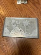 Official Ww2 Trench Art Cigarette Case