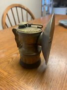 Guys Dropper Carbide Miners Lamp 1920's