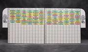 2020 Fantasy Football Draft Board And Labels - Stands On Its Own