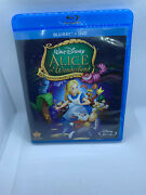 Alice In Wonderland [two-disc 60th Anniversary Blu-ray/dvd Combo] W/ Slipcover