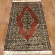 Yilong 3and039x5and039 Hand Knotted Classic Silk Carpet Indoor Exclusive Pattern Rug P034h