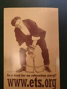 Houdini Harry Www.sts.org Promotional Flyer Original Rare Image Card Stock Gloss