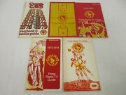 9 1970s Cleveland Cavaliers Nba Basketball Media / Press Guide Lot