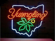 Yuengling Ohio State Map Neon Sign 20x16 Light Lamp Beer Bar Pub Wall Decor