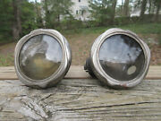 Antique Brass Era 1920and039s Cowl Lights Cadillac Buick Olds Packard Studebaker Reo