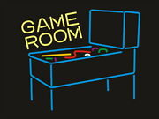 New Game Room Pinball Sign 17x14 Light Lamp Man Cave Poster Real Glass Decor