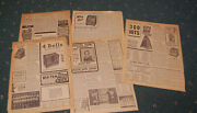 5 1940 Magazine Advertisements For Trade Stimulators / Coin Machines