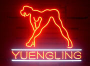 Yuengling Live Nudes Girl Neon Sign 20x16 Light Lamp Beer Bar Pub Wall Decor