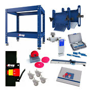Kreg Multi-purpose Shop Stand With Precision Router Table Top And Fence Bundle