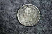 1874 - H Canada 5 Cents Five Cent Small Silver Coin J08422