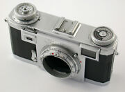 Zeiss Ikon Contax Iia Body Gehandaumluse First Type No Number 1. Modell Ohne Nummer