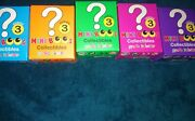 Ty Beanie Boos - Mini Boo Figures Series 3 - Blind Boxes 5 Pack Lot2 Inch