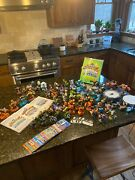 Wii Skylanders Includes 2 Portals, 3 Game Discs, Characters, Cards And Id Book