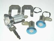 Igntion And Door Lock Set Ford Galaxie-ltd-mustang 1973-77