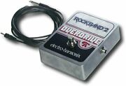 Brand New Rock Band Guitar Overdrive Pedal Electro-harmonix 1/4 To 1/8 Cable