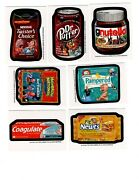 2012 Topps Wacky Packages Series 8 Complete 7 Postcard Bio Card Set