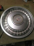 Vintage Cadillac Coupe Deville Hubcapstainless Steel Wheel Cover Genuineoem