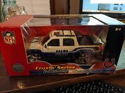Ertl Nfl Indianapolis Colts Cadillac Escalade Ext 127 Scale Diecast New Mint