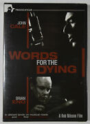 Dvd [new] Brian Eno - John Cale - Words For The Dying - Region Free