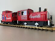 Lgb 70630 Campbell's Soup Industrial Diesel Loco And Caboose Souper Express Set