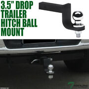 Topline 3.25 Drop Trailer Tow Hitch Loaded Ball Mount 1.25 Receiver For Acura