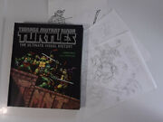 Teenage Mutant Ninja Turtles Signed By Eastman Laird Farago W/ Cover Sketches