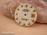 Opal Stone Dial For Rolex Datejust Mens Diamond 36mm 3035 Mop 16000 39