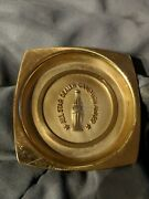 Coca Cola 1950s All Star Campaign Award Bottlers Hyde Park Ny Brass Coaster