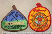 Two 2 Vintage 1970s Philmont Scout Ranch Boy Scouts Patches 40th Anniv. Camp