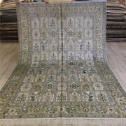 Yilong 6and039x9and039 Oriental Four Seasons Hand Knotted Carpets Handwoven Silk Rugs 089c