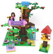 Lego 3065 Friends Olivia's Tree House 1 Minifig Complete No Instructions Or Box