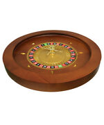 20 Solid Wood Roulette Wheel For Roulette Tables