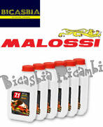 13093 - Set 72 Packs Of 1 Liter Engine Oil Malossi 7.1 5w40 Full Synth