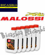 13096 72 Packs Of 1 Liter Engine Oil Malossi 7.1 5w40 Full Synth Motorcycle