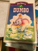 Disneyand039s Dumbo- Masterpiece Collection- Rare Limited Edition- Stock No.- Vhs