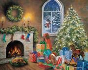 White Mountain Puzzles Twas The Night Before Christmas 1000 Piece Puzzle